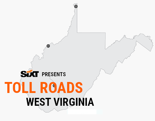 WV Toll Roads Map NEW