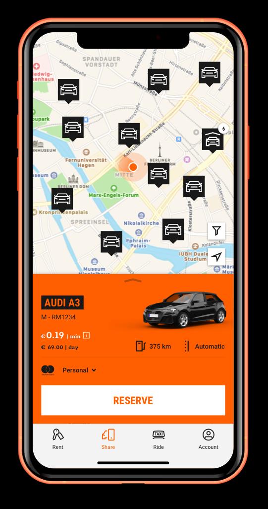Tv Audio Meubel Lars.Car Sharing Sixt Share