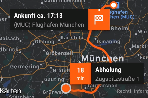 Muenchen Taxi Sixt Ride