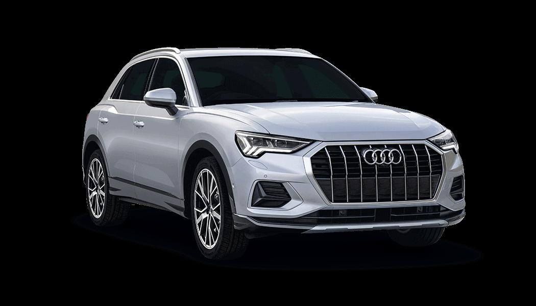 Audi Q3 5d Silber - Carsharing Flotte