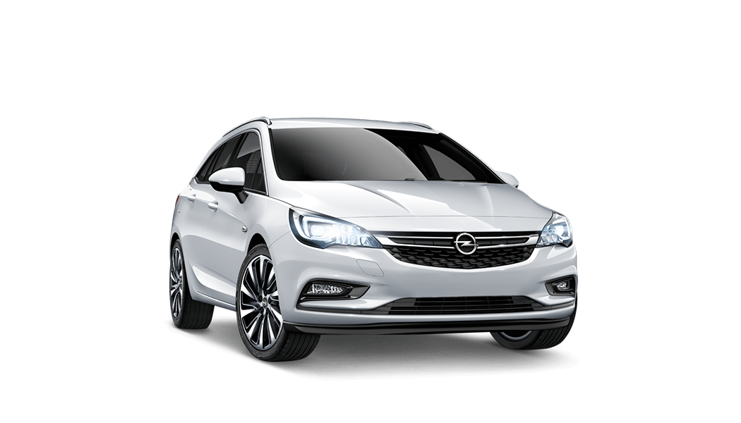 carsharing opel astra 5d weiss 2017