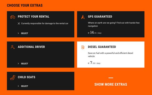 fr option diesel garanti