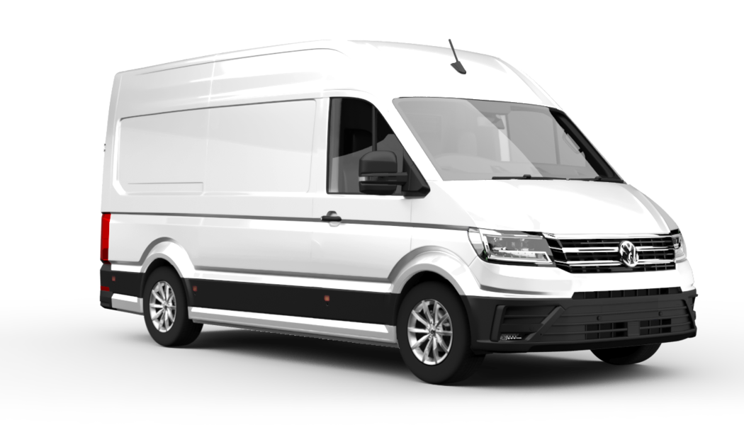 vw crafter cargo white 2020 60