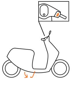 illu moped park