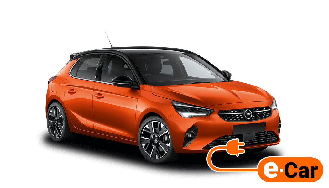 opel corsa e 5d orange 2019 elektro