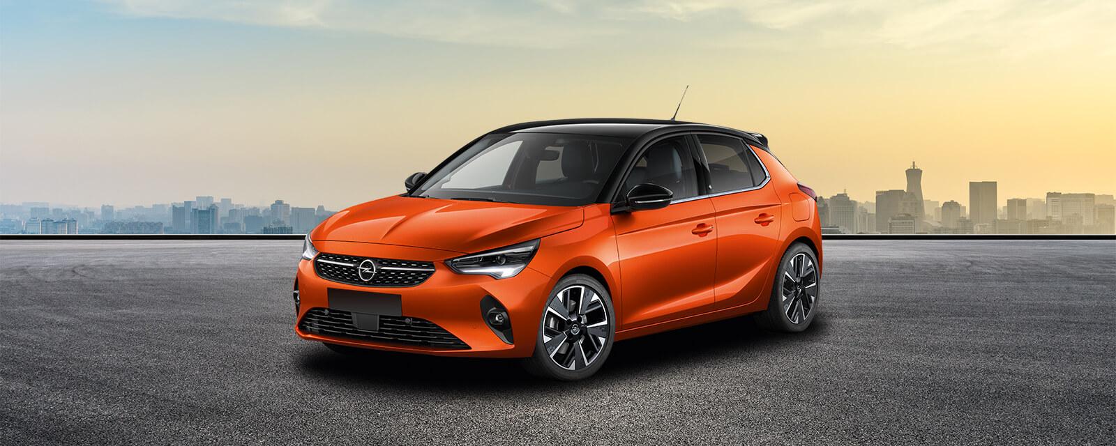opel corsa e 5d orange 2019