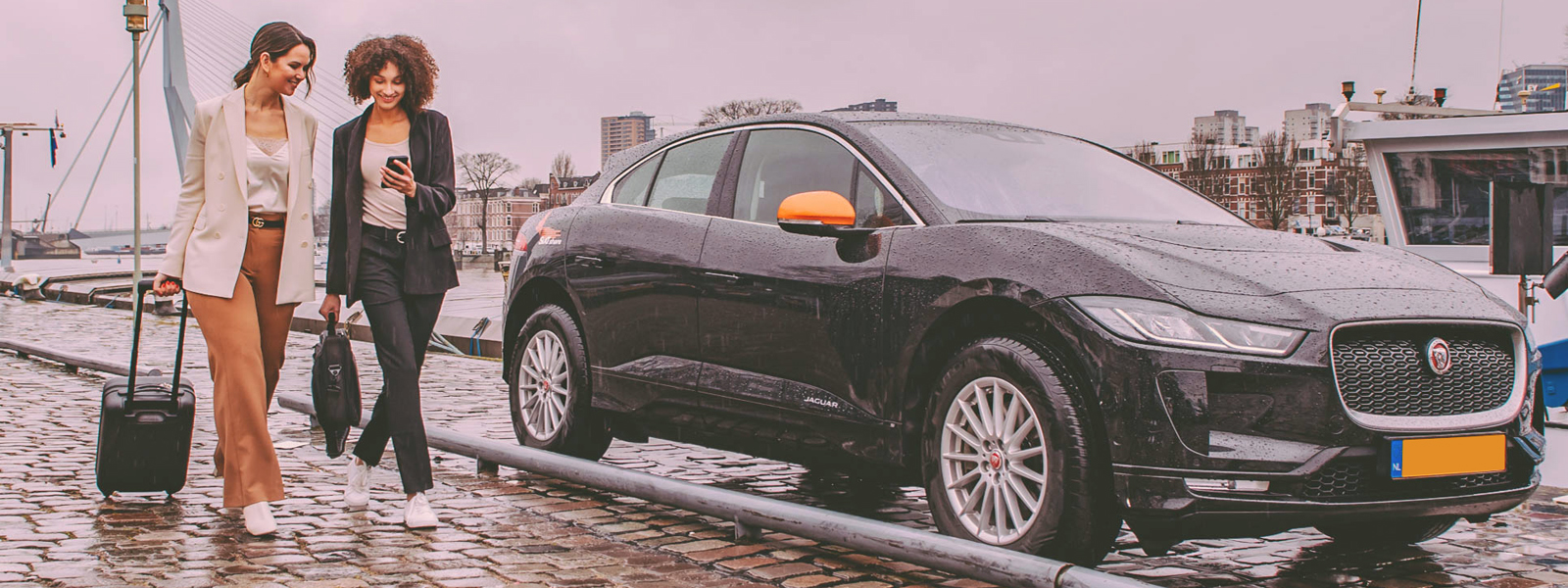 sixt share carsharing in rotterdam erasmusbrug