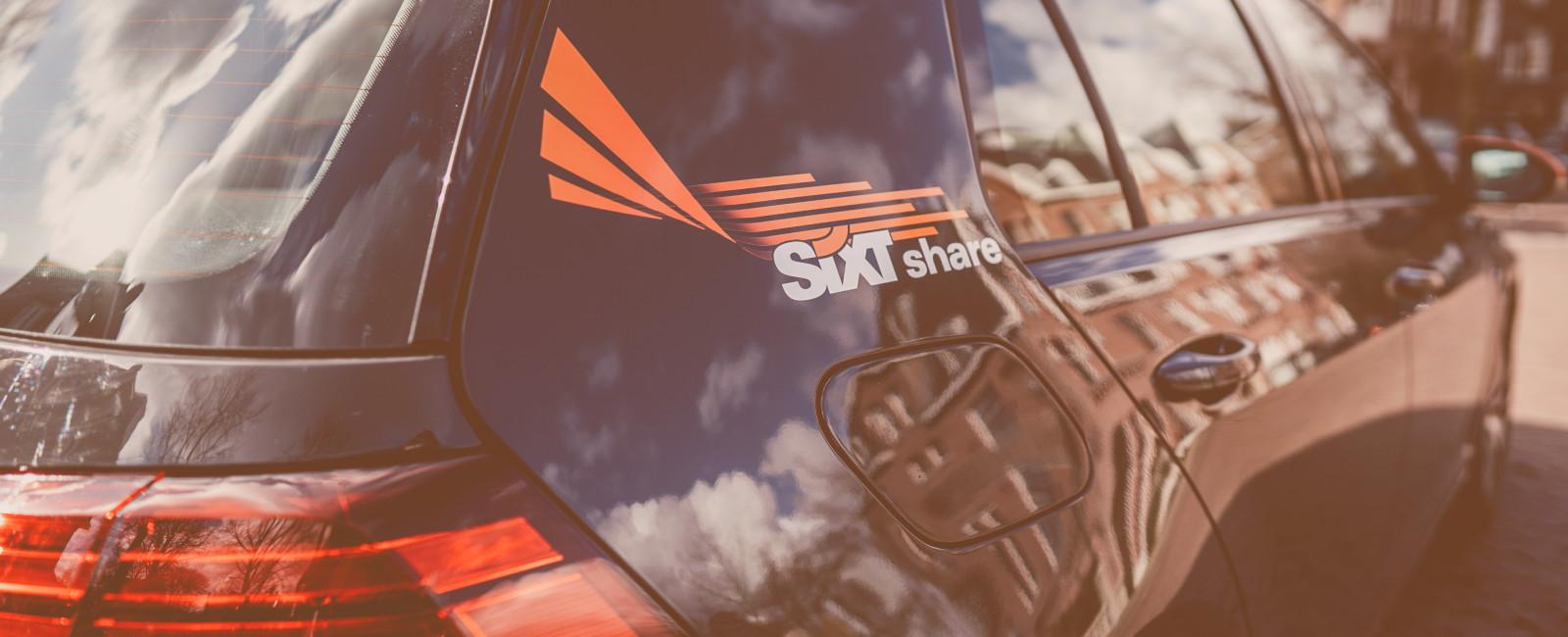 sixt share carsharing vloot