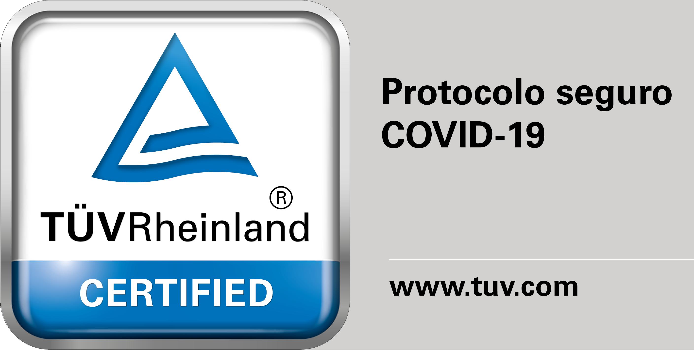 test mark certified Protocolo Seguro