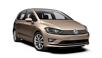 vw golf sportsvan 5d van gold 2015
